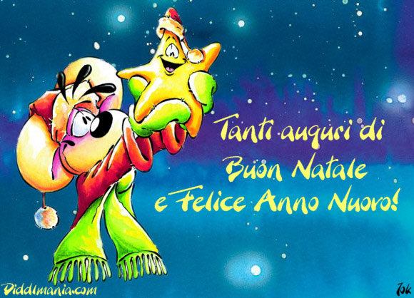 buon natale diddl